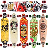 [Maronad.GCP] Longboard Skateboard drop through Race Cruiser ABEC-11 Skateboard 104x24cm Streetsurfer skaten SAT