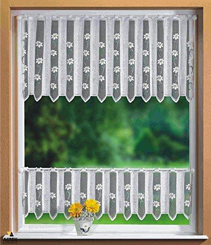Gardinenbox Scheibengardinen Set 2 Teilig, 30/50x160, 33514, 33500
