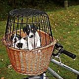 Trixie 2806 Fahrradkorb mit Gitter 44 × 48 × 33 cm