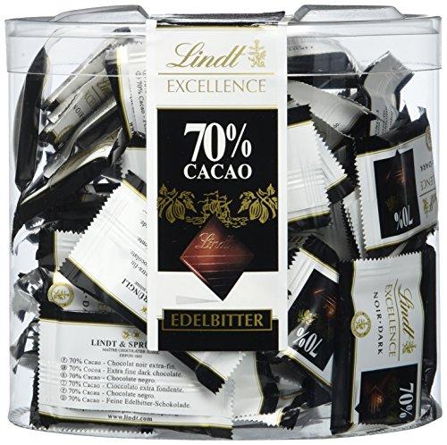 Lindt Excellence 70% Minis Köcher, 1er Pack (1 x 385 g)