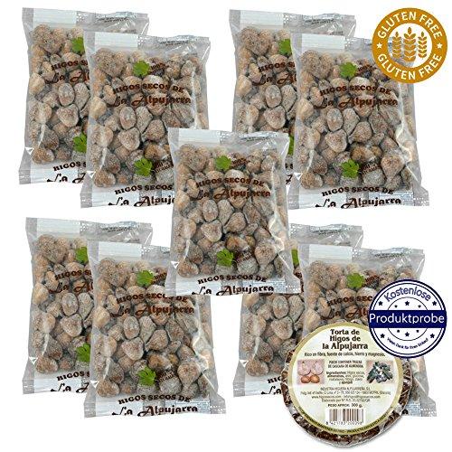 Vorteilspack 9 Stück - 4,5kg - Getrocknete Feigen - Glutenfrei - 13% sparen