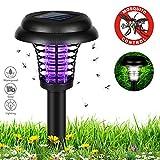 Bukm Solarleuchten Garten, Mückenschutz Insektenschutzmittel Solar Gartenleuchten Automatische EIN/Aus(Licht Sensor), Solarlampen Spotlight Anti-Moskito Außen Wasserdicht IP65, Perfekt für Garten