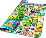 StillCool Crawl Mat Baby-Kind-Kleinkind Spielteppich Spielmatte Babyschleichenmatte Picknick-Decke (L)