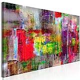 murando - Bilder 120x40 cm Vlies Leinwandbild 1 TLG Kunstdruck modern Wandbilder XXL Wanddekoration Design Wand Bild - Abstrakt a-A-0217-b-b
