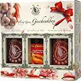 Flying Goose Sriracha Chillisaucen in Geschenkbox, 1er Pack (1 x 1.205 l)