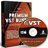 VST Audio Plugins Software & Virtual Instruments Bundle für Windows FL Studio & MAC & DAW Ozone Native Synth Music Effects Drum Guitar Piano Kompressor Vocal & More DVD