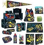 Transformers Schulranzen Set 20tlg. mit Federmappe, Schreibtischauflage und Schultüte 85cm PL