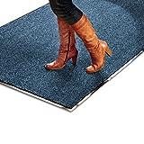 Schmutzfangmatte SKY - Testsieger - Fußmatte in 10 verschiedenen Größen - blau-schwarz