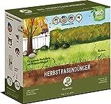 Plantura Bio Herbstrasendünger Langzeitwirkung | für maximale Winterhärte | 100% tierfrei & Bio-Zertifiziert | gut für den Boden | unbedenklich für Haus- & Gartentiere | Rasendünger | NPK 5-1-9 (3)