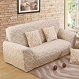 FORCHEER Sofabezug elastische Sofahusse Sesselbezug Stretchhusse Sofaüberwurf Couch Husse mit 4 verschienden Größe ( 3-Sitzer, 190-230cm, Farbe #19 )