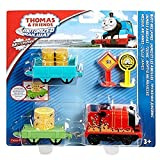 Fisher Price 1156 - Thomas und seine Freunde Spielzeugeisenbahn - Trackmaster Motorisiertes Eisenbahnspielset - Choclate Percy