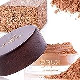 Gaya Cosmetics Foundation Make Up Puder – Vegan Mineral Professionelle Natürliche Full Coverage Foundation Makeup Powder (Schattierung MF5)