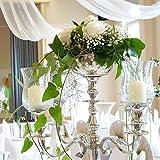 Blumenschale 16cm Durchm. ohne Kerzenleuchter Kerzenständer Wedding Ohne Blumen