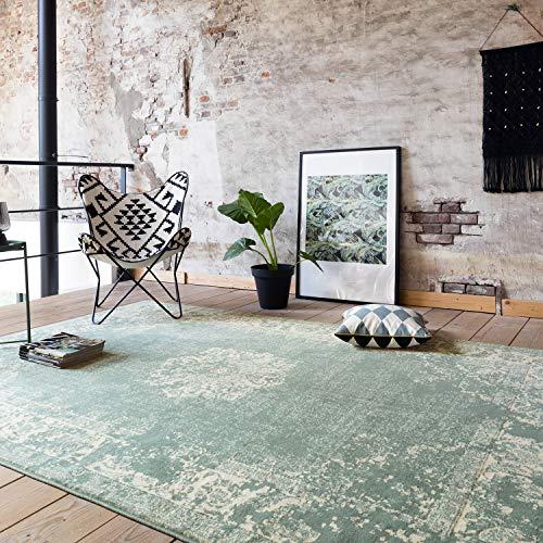 FRAAI | Home & Living Vintage Teppich - Wonder Grün (160 x 230 cm)