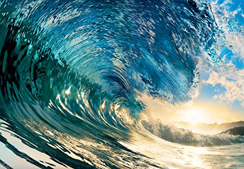 Vlies The Perfect Wave Fototapete 8-teilig Tapete 366x254cm Bildtapete