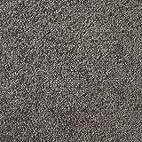 Handmuster zu Teppichfliesen selbstliegend Velours Schatex Simply Soft '2724 Dunkelgrau' (20 Fliesen = 5 m²), Farbe: Grau, Größe: 50 x 50 cm