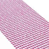 Movoja Strasssteine - runde Glitzersteine in verschiedenen Größen & Farben | selbstklebend zum Verzieren und Basteln | Schmucksteine zum aufkleben | Steinchen Dekosteine Bastelsteine