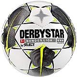 Derbystar Erwachsene Bundesliga Brillant TT Fußball, weiß schwarz gelb, 5