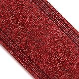 Floori Küchenläufer - 9 Größen wählbar - 66x350cm, rot