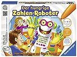 Ravensburger tiptoi Spiel 'Der hungrige Zahlen-Roboter' - 00706 / Formen und Zahlen bis 20 lernen: Spannendes Lernspiel für Kinder von 4 - 7 Jahre