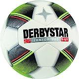 Derbystar Fußball Junior S-Light, Kinder Trainingsball, Ball Größe 3 (290 g), weiß schwarz gelb rot, 1761