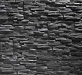 EPS-Schaumstoff Verblendstein UltraLight - Benevento / Wanddekoration / Fliesen / Verblendstein / Wandplatten (Anthracite)