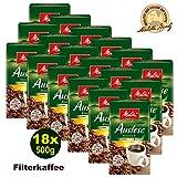Melitta Auslese klassisch Filterkaffee 18x 500g (9000g) - Kaffee aus besten Anbaugebieten