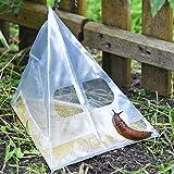 20x Schneckenfalle Slug Ex von VOSS.garden, Schnecken bekämpfen ohne Gift, Bierfalle, Bioschneckenfalle, ohne Chemie frei von Schnecken
