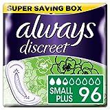 Always Discreet Inkontinenzeinlagen Small Plus, 6 x 16 Stück