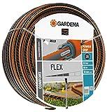 Gardena Comfort Flex Schlauch Formstabiler, Flexibler Gartenschlauch mit Power-Grip-Profil, Spiralgewebe, 25 bar Berstdruck, ohne Systemteile, verpackt, 19 mm, 3/4 Zoll, 50 m