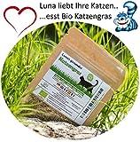 SiS Premium Bio Katzengrassamen  - 1 Beutel mit 30g Saatmischung für ca. 15 Töpfe fertiges Katzengras in wiederverschliessbarem Beutel