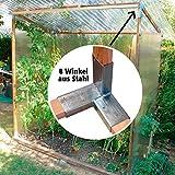 Winkel-Set, 8 Stück, aus rostfreiem Stahl