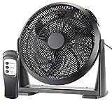 Sichler Haushaltsgeräte Wandventilator: XXL-Wand- & Boden-Raum-Ventilator, Fernbedienung, 55 Watt, Ø 40 cm (Ventilator-Windmaschine)