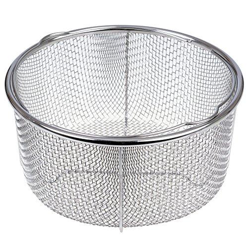 GRÄWE Dämpfeinsatz für Kochtöpfe - Dünsteinsatz-Korb aus Edelstahl Ø 21 cm