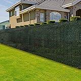 casa pura Zaunblende | effektiver Sichtschutz, Windschutz, Sonnenschutz | für Garten, Balkon, Sportplatz und Gelände | Höhe: 100 cm | in Vielen Höhen und Längen