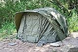 CampFeuer - Angelzelt 'Typhoon', 2,5-Mann Karpfenzelt für Angler, Bivvy, 10.000 mm Wassersäule