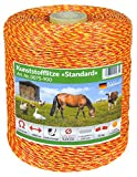 Weidezaunlitze Jumbo - Größe Auswählbar von 1000m - 5000m - Markenqualität von Eider Landgeräte zum Bestpreis - Made in Germany (1000 Meter)