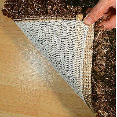 HAFTPLUS Teppichunterlage Antirutschmatte - Haftet Ohne Zu Kleben - Rutschfest Zuschneidbar Größe 120 x 180 cm