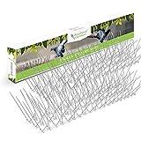 Edelstahl Taubenspikes – Robuste Taubenabwehr - Gut geeignet gegen Vögel, Krähen und Spechte - Einfache Montage - ZUFRIEDENHEIT GARANTIERT – Länge 3m