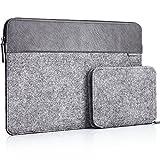 JSVER 13-13,3 Zoll wasserabweisende Laptophülle Sleeve Aktentasche aus Filz für MacBook Air/Pro (Retina) Ultrabook