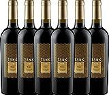 6er Paket - TANK No 11 Syrah Appassimento 2017 - Cantine Minini   italienischer Rotwein   halbtrockener Wein aus Sizilien   6 x 0,75 Liter