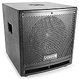Vonyx VX1000BT • 2.2 Aktivlautsprecher-Set • Boxensystem • 1000 W • 2 x 10'-Subwoofer • 2 x 2,5'-Mitteltöner • 1 x 2,5'-Hochtöner • Bluetooth • USB • SD • AUX • Mikrofon • Fernbedienung • schwarz