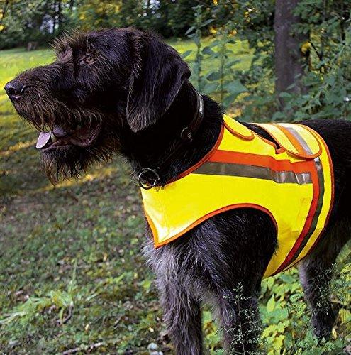 HUNDE-SIGNALWESTE Reflektorweste Hunde-Warnweste AKAH Stöber- und Vorstehhunde