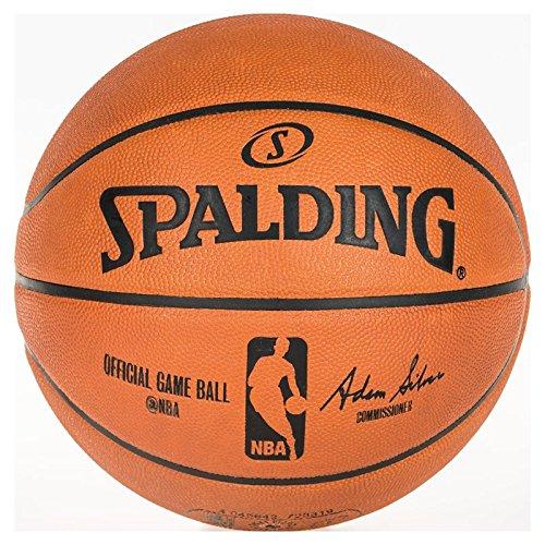 Spalding NBA Gameball Basketball Ball orange, 7