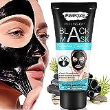Black maske, Peel off Maske, Mitesser Maske, Blackhead Maske, Mitesserentferner Werkzeug, Black mask, Bambuskohle Reinigungsmaske, Gesichtsmasken Schwarz, Blackhead Remover Mask (60g)
