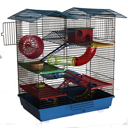 Käfig mit 6mm CH2 Gitterabstand Hamsterburg Hamsterkäfig Mäusekäfig CH2