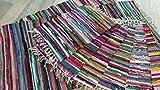 Fleckerl Handweb Teppich Kufstein multicolor 40x60 60x120 70x140 90x160 130x200 170x240 90x250 90x340 200x300 cm (40x60)