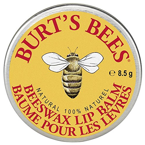 Burt's Bees 100% Natural Lip Balm Tin, Beeswax (in der traditionellen Dose), 1er Pack (1 x 8,5 g)