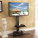 Fitueyes fitueyes drehbar TV Bodenständer für 32 bis 65 Zoll LED LCD TV Bildschirm Schwarz TT207001GBUK
