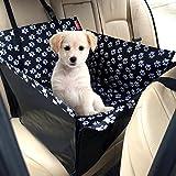 Hunde Autositz MATCC Einzelnsitz Für Rückbank Wasserdicht Hund Autositzbezug Autositz Für Haustier Abriebfest Hund Sitzbezug Autoschutzdecke Hunde Auto Hundedecke Hunde Autoschondecke (53*60*35cm)